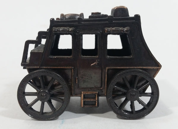 Vintage Miniature Old Western StageCoach Wagon Carriage Vehicle Metal Pencil Sharpener Doll House Furniture Size