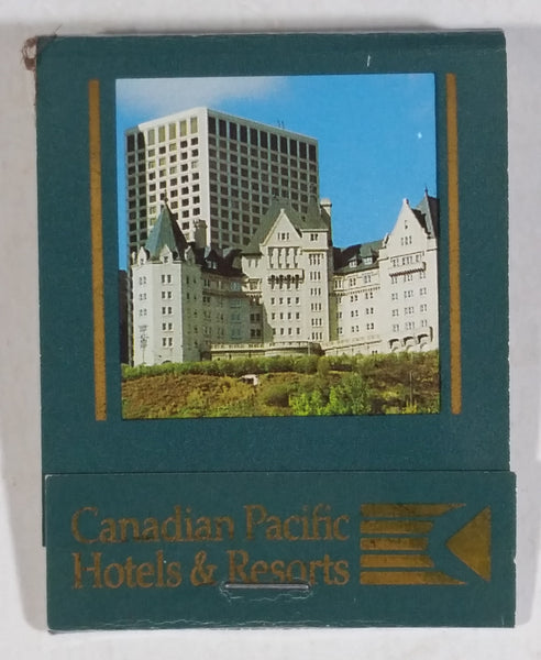 Rare CP Canadian Pacific Hotels & Resorts Match Matches Book Pack