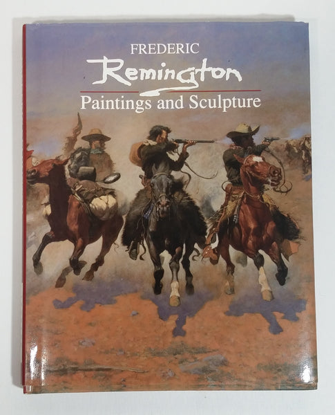 Fredric Remington 'Paintings and Sculpture' Artwork Book