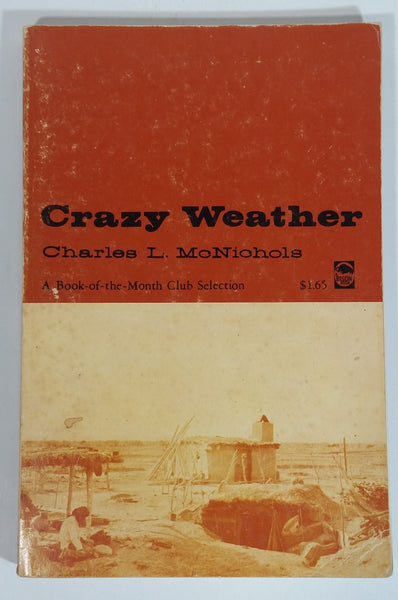 'Crazy Weather' Paper Back Book by Charles L. McNichols - Bison Books - Treasure Valley Antiques & Collectibles