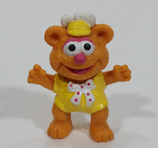 1986 HA! The Muppets Baby Fozzie Bear Character PVC Toy Figure