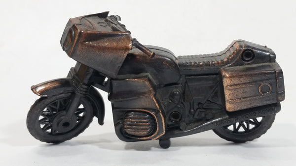 Vintage Miniature Motorcycle Motorbike Metal Pencil Sharpener Doll House Furniture Size