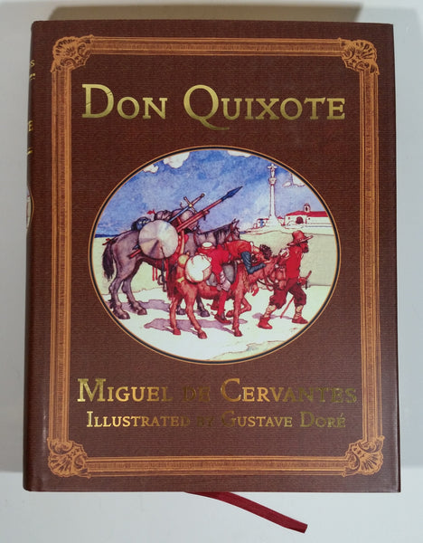 Don Quixote Hard Cover Book - Miguel De Cervantes, Gustave Dore - Collector's Library Edition