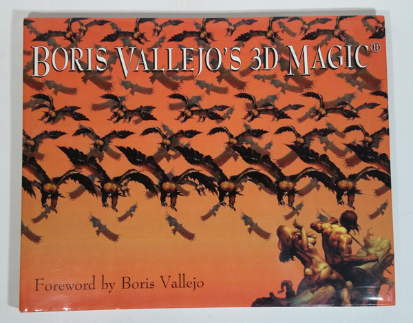 Boris Vallejo's 3D Magic Hard Cover Book