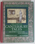The Complete Canterbury Tales Hard Cover Book - Geoffrey Chaucer, Frank Ernest Hill, Edward Burne-Jones, William Morris - Arcurus