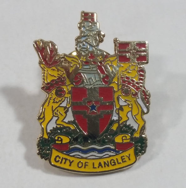 City of Langley (British Columbia, Canada) Enamel Metal Pin