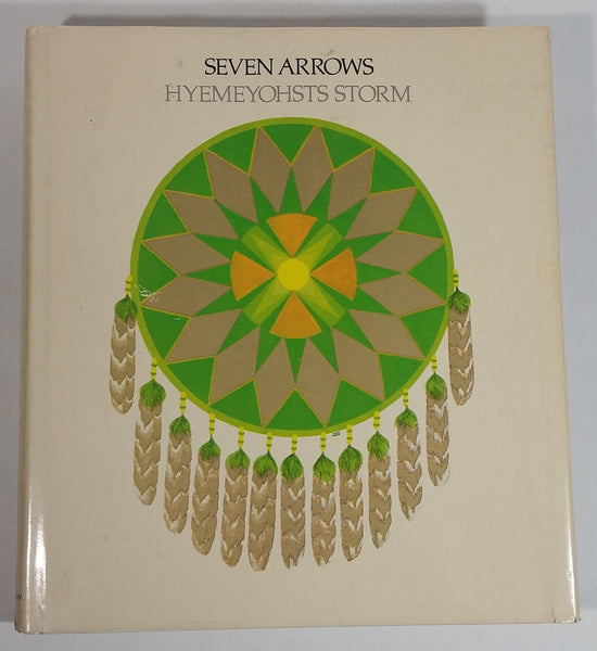 1972 Seven Arrows Hyemeyohsts Storm Hard Cover Book - Harper & Row - Treasure Valley Antiques & Collectibles