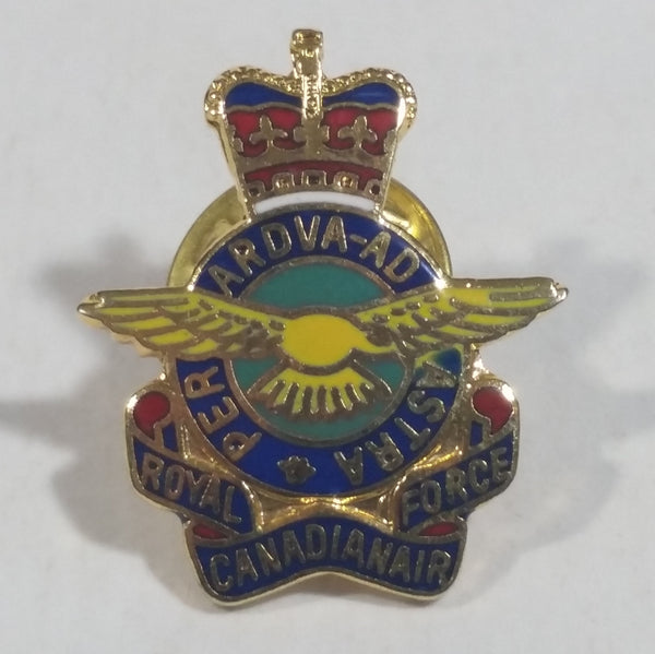 Royal Canadian Air Force RCAF Enamel Metal Pin Military Collectible