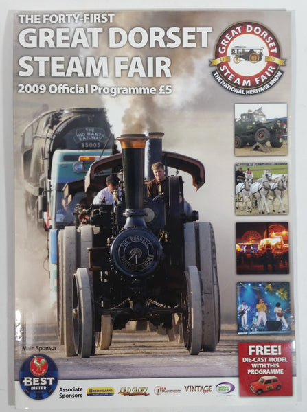 2009 The Forty-First Great Dorset Steam Fair Official Program Guide Book