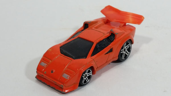 2004 Hot Wheels First Editions Tooned Lamborghini Countach Orange