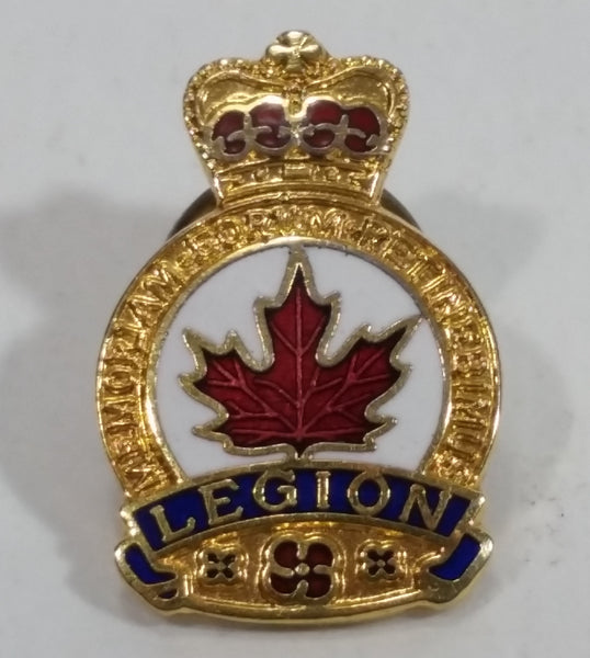 Royal Canadian Legion Enamel Metal Pin