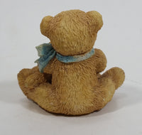 "Cherished Teddies Theadore, Samantha and Tyler ""Friends Come In All Sizes"" 1991 #950505"