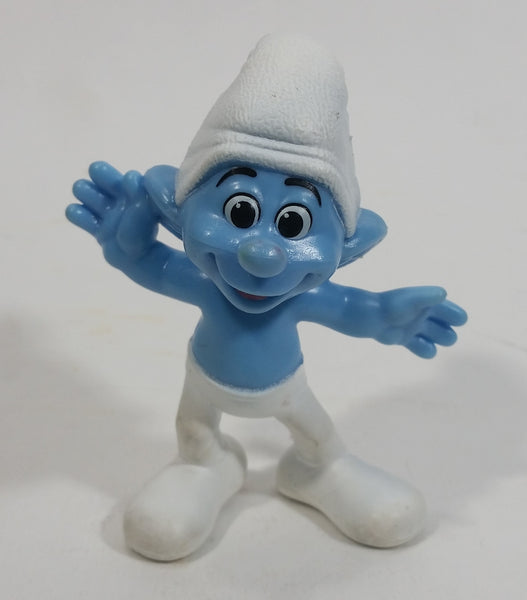 "2013 Peyo Smurf ""Crazy"" #11 McDonalds Happy Meal Collectible Toy Figurine - China"