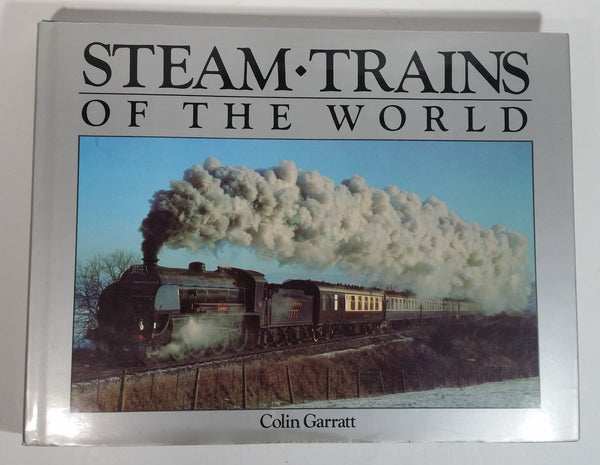 Steam Trains of the World Hard Cover Book - Colin Garratt - Exeter