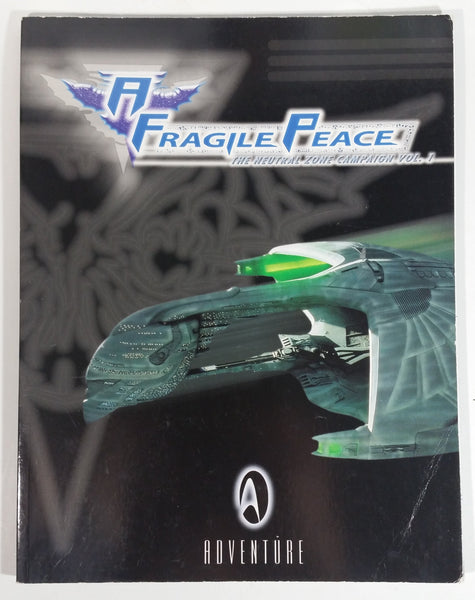 A Fragile Peace The Neutral Zone Campaign Vol. 1 Paperback Book Star Trek Adventure