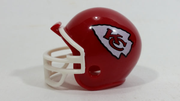 2012 Riddell Pocket Pro Kansas City Chiefs NFL Team Miniature Mini Football Helmet