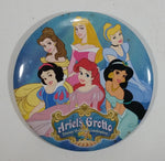"Walt Disney Ariel's Grotto Disney Princess Celebration 3"" Round Circular Button Pin Collectible"