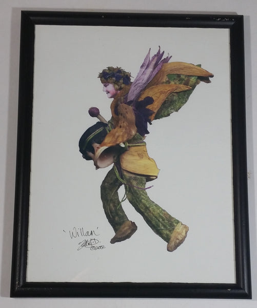 Faerie Influence Wildcraft Creations 'Willan' Framed Digital Art Print 2002 Signed