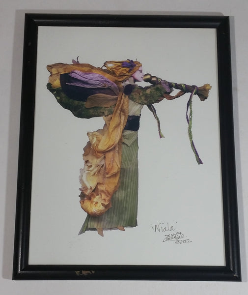 Faerie Influence Wildcraft Creations 'Niala' Framed Digital Art Print 2002 Signed