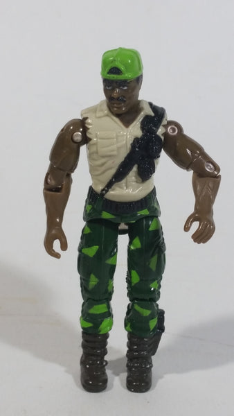 "1991 G.I. Joe Heavy Duty Ordinance Trooper 3 3/4"" Tall Toy Action Figure"