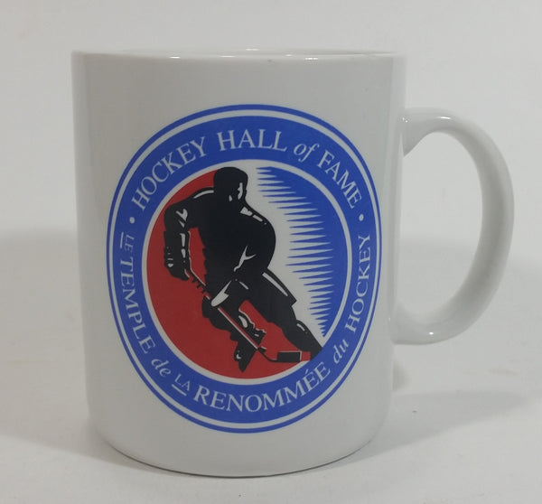 "Hockey Hall of Fame HHOF 4"" Tall Ceramic Coffee Mug Cup Souvenir Sports Collectible"