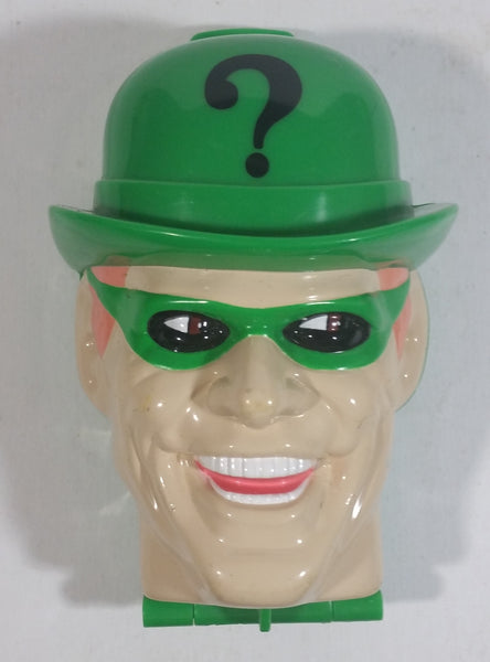 1996 Kenner DC Comics Batman Forever The Riddler Power Center Playset Character Head Shaped Toy