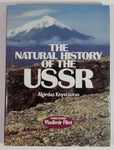 The Natural History of the USSR Hard Cover Book - Algirdas Knystautas - Foreword Vladimir Flint