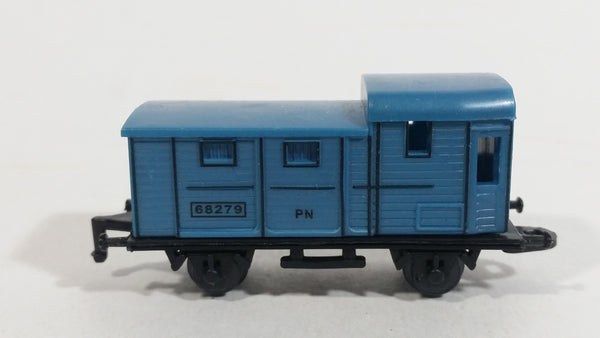 1990s Soma Train Car 68279 PN Blue Plastic Toy Railroad Vehicle