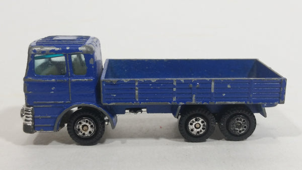 Vintage Yatming Ford Truck Blue Die Cast Toy Car Vehicle Made in Hong Kong