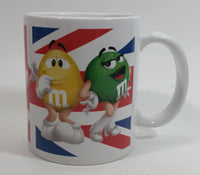 2011 Mars M & M's Limited Edition London Store Opening Chocolate Candy Characters Ceramic Coffee Mug Collectible