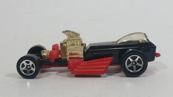 1997 Hot Wheels Crazy Classics Rigor Motor Red Black Die Cast Toy Car Vehicle