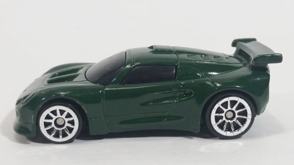 2004 Hot Wheels Lotus Sport Elise Dark Green No. 1/8 Die Cast Toy Dream Car Vehicle McDonald's Happy Meal
