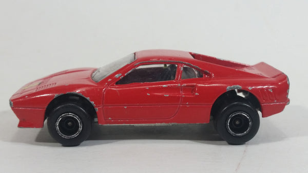Vintage Majorette No. 211 Ferrari GTO Red 1:56 Scale Die Cast Toy Car Vehicle - Made in France