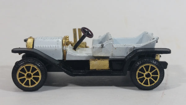 Vintage Reader's Digest High Speed Corgi Simplex Black White Gold No. 305 Classic Die Cast Toy Antique Car Vehicle