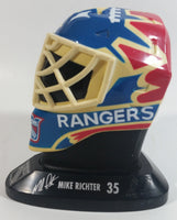 1996-97 McDonalds Mini Goalie Mask New York Rangers Mike Richter #35