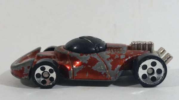 1999 Hot Wheels Innovator Metalflake Orange Die Cast Toy Car Vehicle McDonald's Happy Meal 16/16