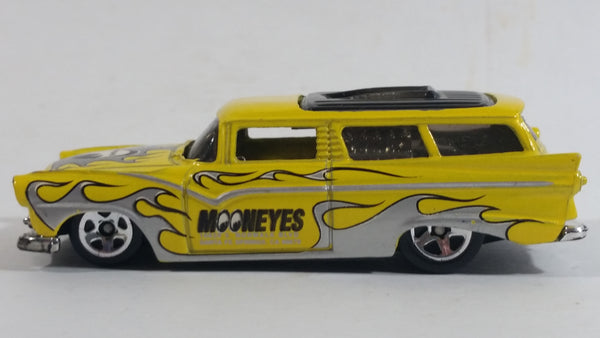 2012 Hot Wheels HW Performance 8 Crate Yellow Die Cast Toy Car Vehicle