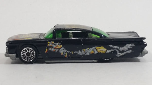 2001 Hot Wheels 1959 Chevrolet Impala Monster #1 Black Die Cast Toy Low Rider Car Vehicle