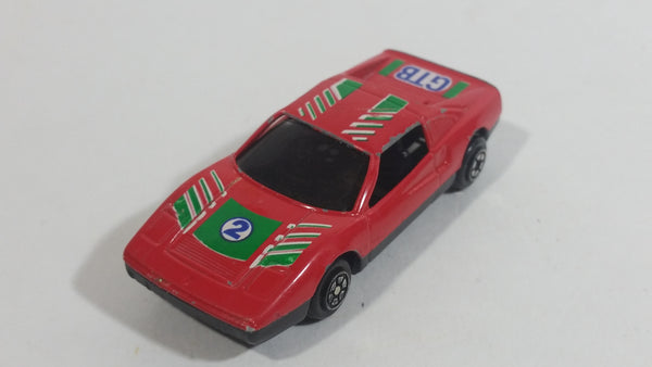 Yatming Ferrari 328 GTB Red No. 802 Die Cast Toy Super Dream Car Vehicle