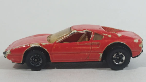 1989 Hot Wheels Automagic II Street Beast Race Bait 308 Red Ferrari Die Cast Toy Car Vehicle - No Tampos - BW - Color Racers
