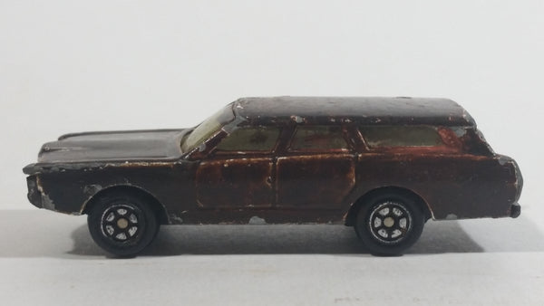 Yatming Ford Station Wagon No. 1015 (Painted Dark Brown) Die Cast Toy Car Vehicle