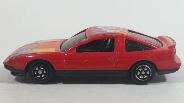 Yatming Nissan 240SX Red No. 808 Die Cast Toy Car Vehicle