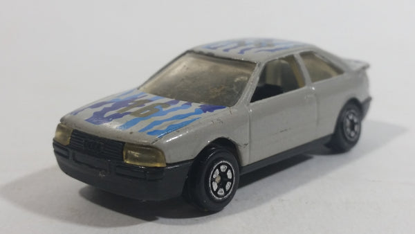 Yatming Audi 80 Grey No. 816 Die Cast Toy Car Vehicle