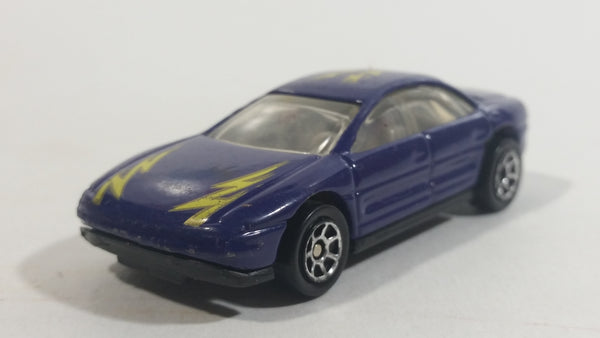HTF 1993 Hot Wheels '93 Warner Oldsmobile Aurora Purple Die Cast Toy Car Vehicle