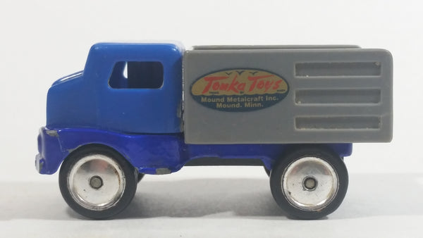 1998 Maisto Tonka Toys Hasbro Farm Truck Mound Metalcraft Mound, Minn Blue Grey Die Cast Toy Car Vehicle