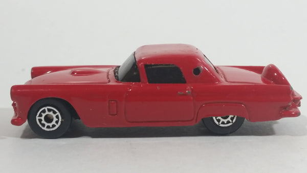 Maisto 1956 Ford Thunderbird Red Die Cast Toy Classic Car Vehicle