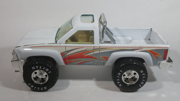 "Nylint White 4x4 Truck Pressed Steel Toy Car Vehicle 12"" Long"
