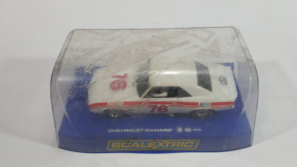 Scalextric Chevrolet Camaro Lennox #76 White Red 1/32 Scale Slot Car Vehicle