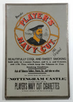 Player's Navy Cut Cigarettes The Original Nottingham Castle Metal Framed Advertising Mirror Tobacciana Collectible