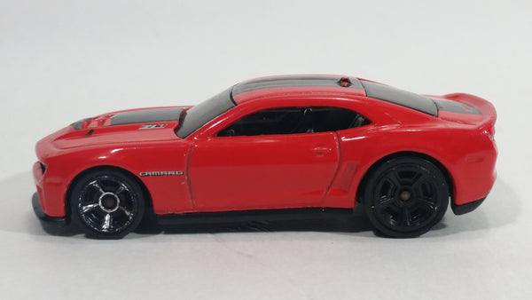 2012 Hot Wheels '12 Camaro ZL-1 Red Die Cast Toy Car Vehicle